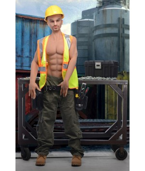 Builder Brett Adult Doll
