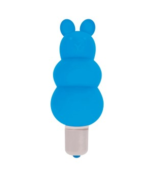 Excite Silicone Ripple Bullet Vibe- Blue