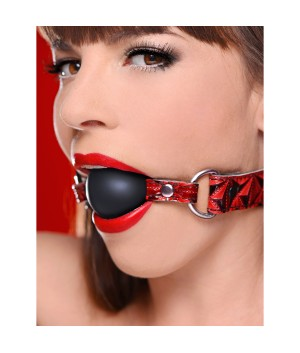 Interchangeable Silicone Ball Gag