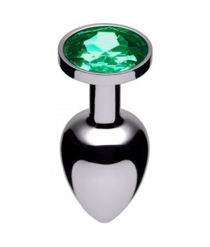 Jewel Butt Plug Emerald